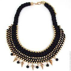 cb183105246 Astuces mode  fabriquer son collier plastron - Bijoux personnalisés et  tendances