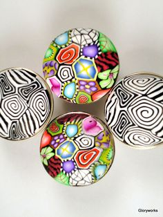 how spectacular are these! Good drawer knobs to furniture are like good jewelry to us-dress it up!
