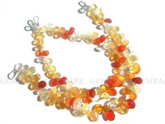 Christmas Sale 61 pieces of Fire Opal beads in Faceted Pear #fireopal #fireopalbeads #fireopalbead #fireopalpear #pearbeads #beadswholesaler #semipreciousstone #gemstonebeads #gemrare #beadwork #beadstore #bead