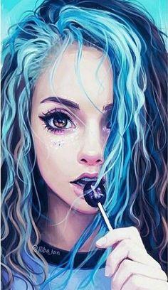 Art Pop, Pop Art Drawing, Drawing Sketches, Shirt Drawing, Life Drawing, Art Anime Fille, Anime Art Girl, Anime Girls, Fantasy Kunst