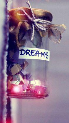 Dreams In A Jar #iPhone #5s #Wallpaper