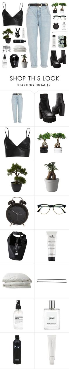 """Lies"" by discxnnect-ed ❤ liked on Polyvore featuring River Island, Jeffrey Campbell, Bardot, Nearly Natural, Muuto, Retrò, Jura, philosophy, Nimbus and Hershesons"