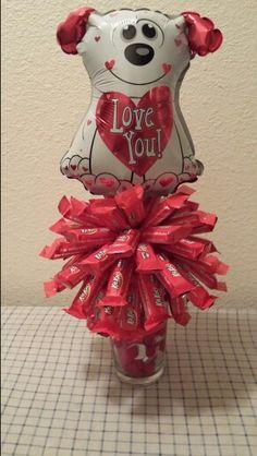 KitKat Valentine's candy bouquet