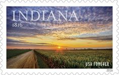 Stamp marking Indiana's bicentennial set for June release ...