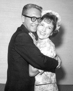 If you were born in 1963 that year actress Betty White married TV game show host Allen Ludden - they remained married until his passing in Celebrity Wedding Photos, Celebrity Couples, Celebrity Weddings, Betty White Husband, Old Movie Stars, Stars Then And Now, Famous Couples, Old Tv Shows, Golden Girls