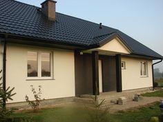 Wejście do domu Słoneczny  #elewacja #dom #projekt
