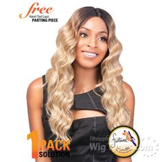 Outre Synthetic Weaving Batik Duo - CLASSIC WAVE 5PC (12/14/16/18   Parting Piece) [7195] Sew In Weave, Hair Weaves, Weave Hairstyles, Hair Pieces, Wig, To My Daughter, Weaving, Waves, Long Hair Styles
