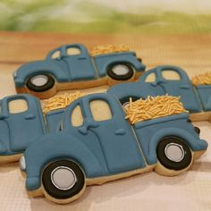 """27 Likes, 6 Comments - The Charming Cookie Co. (@thecharmingcookieco) on Instagram: """"Our best work yet! Car themed birthday cookies. #thecookiesisters #thecookiesistersbris #bris…"""""""