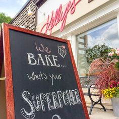 We bake! What's your superpower? :)