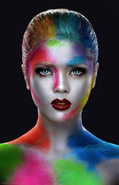 1X - Ina Face Paint by Erich Caparas