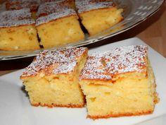 Túrós piskóta recept lépés 6 foto Hungarian Recipes, Hungarian Food, Something Sweet, Cornbread, French Toast, Cheesecake, Muffin, Food And Drink, Dishes