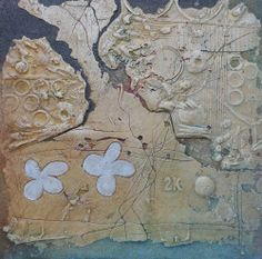 Bohuslav Vágner Prolínání Vintage World Maps, Mixed Media, Artist, Handmade, Oil, Store, Decor, Hand Made, Decoration