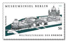 Stamp Germany 2002 MiNr2274 Museumsinsel Berlin.jpg