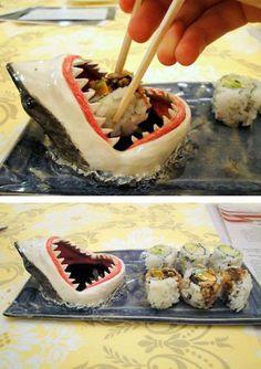 Акулья тарелка для суши