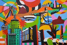 LOBO Por Art #brasil #artebrasileira #lobopopart #artistabrasileiro #paintings…