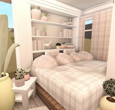 Two Story House Design, Tiny House Layout, Unique House Design, House Layouts, Tiny House Bedroom, Bedroom House Plans, House Rooms, Home Bedroom, Small Apartment Design