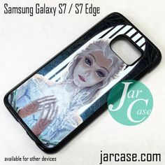 Beautiful Elsa Queen Phone Case for Samsung Galaxy S7 & S7 Edge