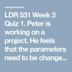 ldr 531 week 2 weekly reflections Ldr 531 week 2 lt reflection (new)  weekly topics relate to application in your field  531 week 1 discussion question 2 ldr 531 week 2 mentorship agreement .