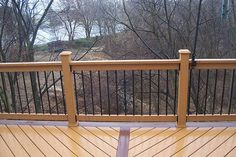Deck Railing Designs | Deck Railings Pictures, Custom Deck Railing Spindles and Balusters ...