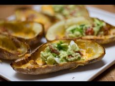 Loaded Potato Skins Recipe - Game Day Eats   Total Noms