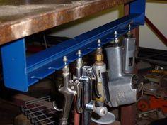 Air Tool Holder by T. Roberts. See more at: http://pneupowerus.com/ #recoiler #airtools
