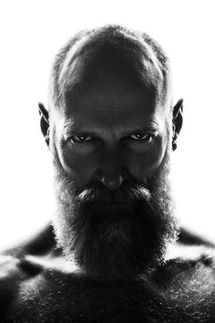 Discover the best beard care products known to man. Luxury beard oil, beard balm, and more can be found at our store dedicated to men's grooming. Bald Men With Beards, Bald With Beard, Long Beards, Beard Styles For Men, Hair And Beard Styles, Moustaches, Bald Men Style, Beard Haircut, Poses References