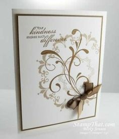 Daydream Medallion All Occasion Card by Becky Jensen at Stamp That