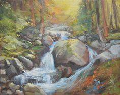 Potok - 40x50 0il on canvas