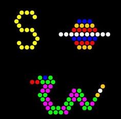 Lite Brite Refill: Letters (26 SQUARE SHEETS) - NOT for New Magic Screen in the…