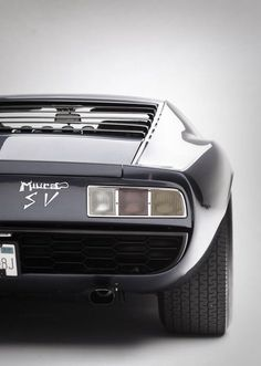 Avtomotovelophoto: Lamborghini Miura