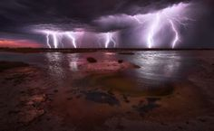 500px / Angry Skies II by Dylan Gehlken. St Kilda, South Australia. Processed with 5 separate exposures.