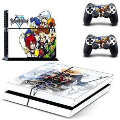Kingdom hearts ps4 skin decal for console and controllers