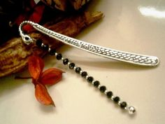 LARGE SNAKES HEAD TIBETAN SILVER BEADED BOOKMARK  £6.00 http://folksy.com/items/3751626-LARGE-SNAKES-HEAD-TIBETAN-SILVER-BEADED-BOOKMARK-