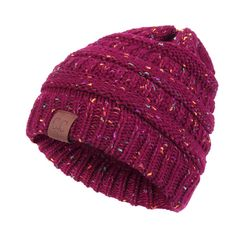 4e25b17b253 Womens Warm Soft CC Label Decorated Crochet Knitting Bonnet Hats Outdoor  Snow Stripes Beanies Cap is designer