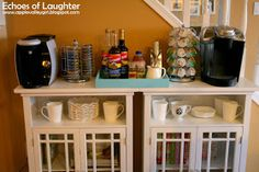 Echoes of Laughter: A New Beverage Center....