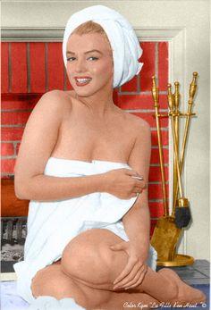 Marilyn Monroe by Andre de Dienes