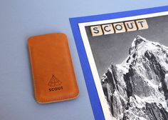 Scout Supply - iphone 5 leather sleeve