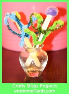 Fun Craft Sticks Projects #crafts