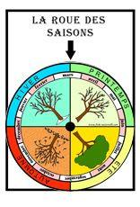 FICHES MATERNELLES : affichage dans la classe de la roue des Saisons. Elément n°2 le support