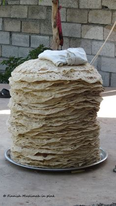 Kurdish naan bread...