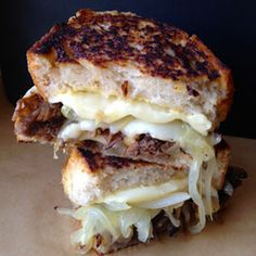 Braised Short Rib Grilled Cheese