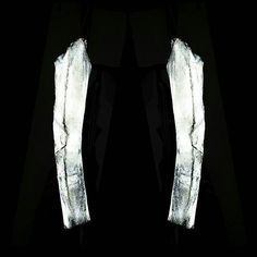 G H O S T A R M S___ Reflective spray paint adds a slice of abstract art to Curtis Li's leather pieces. Collection coming soon. #emergingdesigner #darkwear #unconventional #avantgarde #conceptual #contemporary #luxury #mensfashion #menswear #monochrome #madebyhand