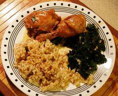 Red Stewed Chicken
