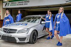 Ensaio das grid girls ALLIANZ mobiliza Interlagos