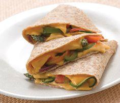 Dietas para Perder Peso Rápido: Receta de Dieta Alcalina, Quesadillade Vegetales