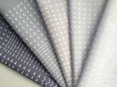 Blueberry park- Allotment greys - screen printed fabrics