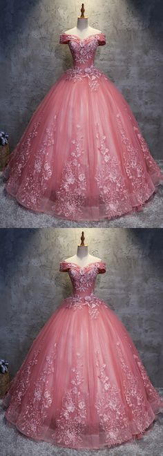 wedding dress cinderella Ballkleid Off-the-Schulter Tll Brautkleid mit Applikationen # . Wedding Dress Cinderella, Cheap Wedding Dress, Tulle Wedding, Gown Wedding, Bridal Gowns, Maternity Wedding, Wedding Ceremony, Mermaid Wedding, Cinderella Princess