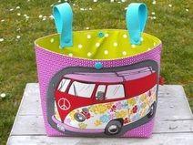 """Lenkertasche """"Hippie Bus Pink"""""""