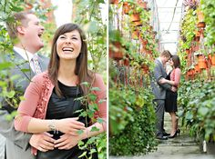 i looove the location for this engagement shoot! Shot by Rebekah Westover