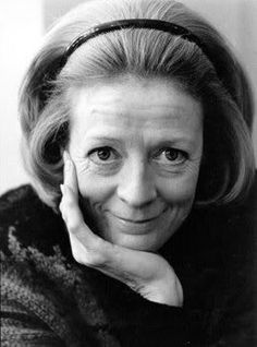 Maggie Smith.... Loved her in HP and Yaya's!
